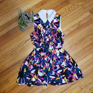 Nasty Gal speckled coloured dress